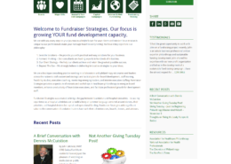Fundraiser Strategies Home