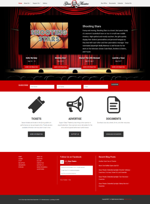 Glass Theatre - Home Page